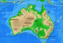 Country Maps Archives A Learning Family - Australia physical map