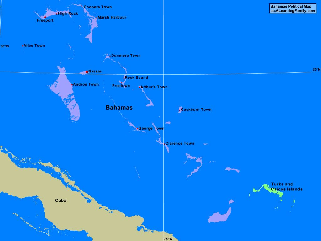 bahamas political map image collections