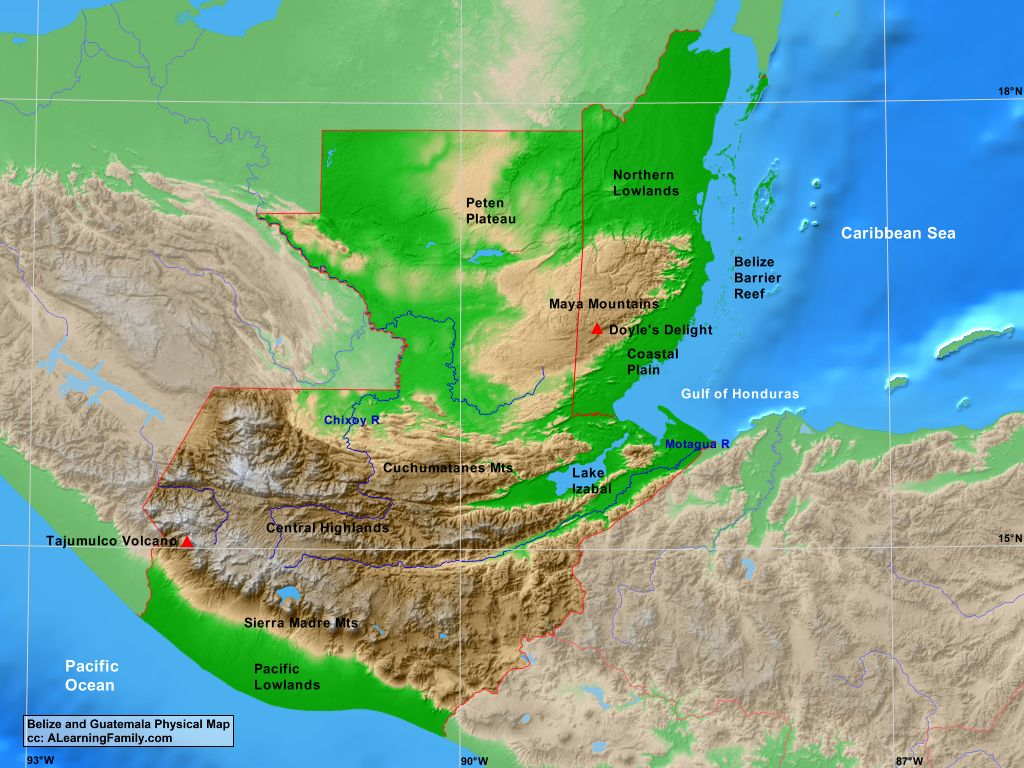 The history and geography of honduras