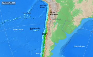 Chile physical map (cc: A Learning Family).