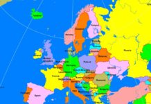 West Europe Physical Map A Learning Family