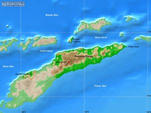 Timor-Leste physical map (cc: A Learning Family).